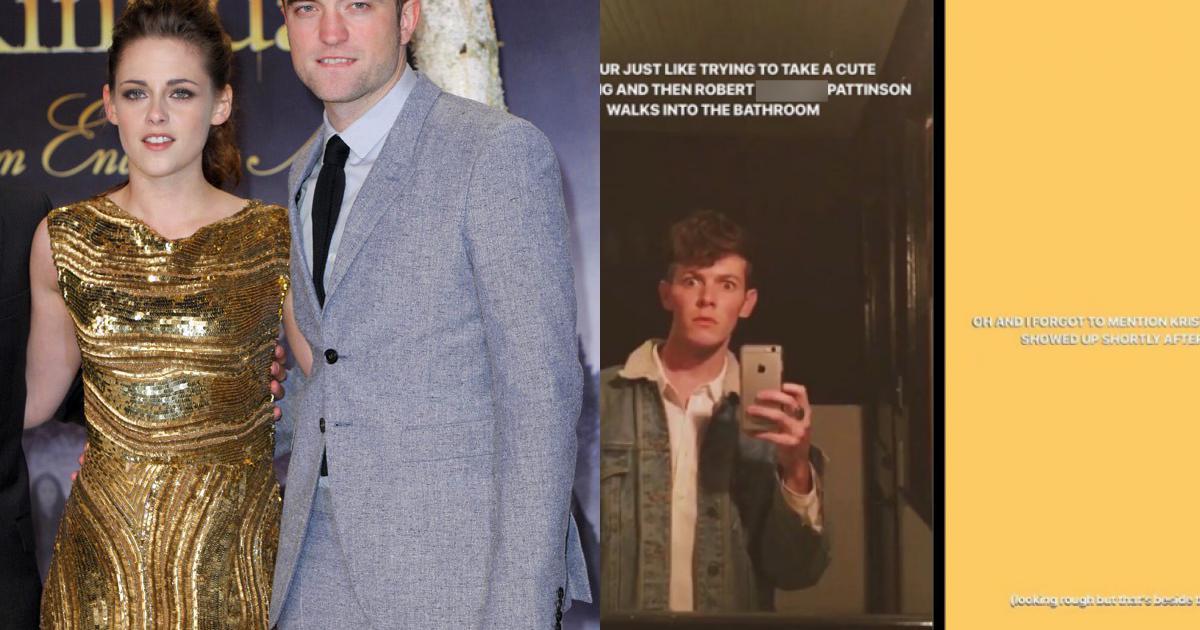 """Loạt fan """"bấn loạn"""" vì bỗng bắt gặp Kristen Stewart và Robert Pattinson bên nhau tại bar"""