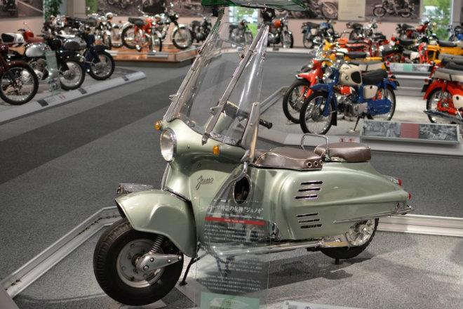 Những mẫu xe máy lạ vô cùng của Honda