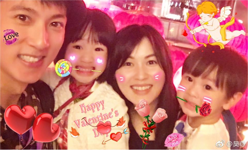 Ngô Tôn lần đầu tiên chia sẻ ảnh chính diện của bà xã, cả hai đã bên nhau 22 mùa Valentine