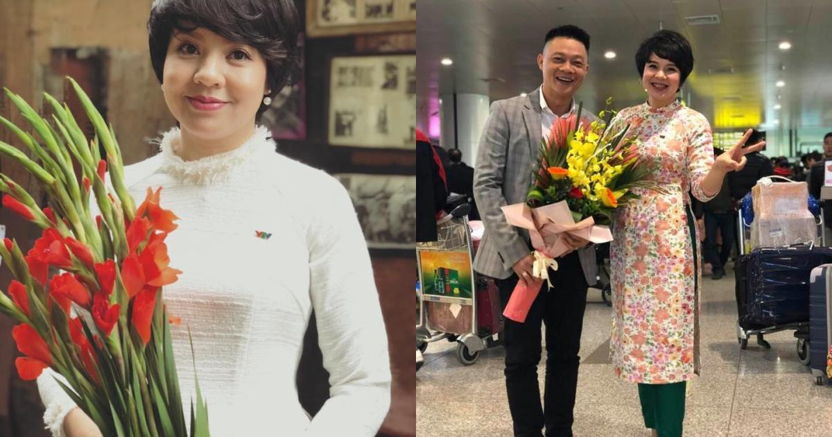 MC Diễm Quỳnh xinh đẹp trong chương trình cuối cùng năm Đinh Dậu