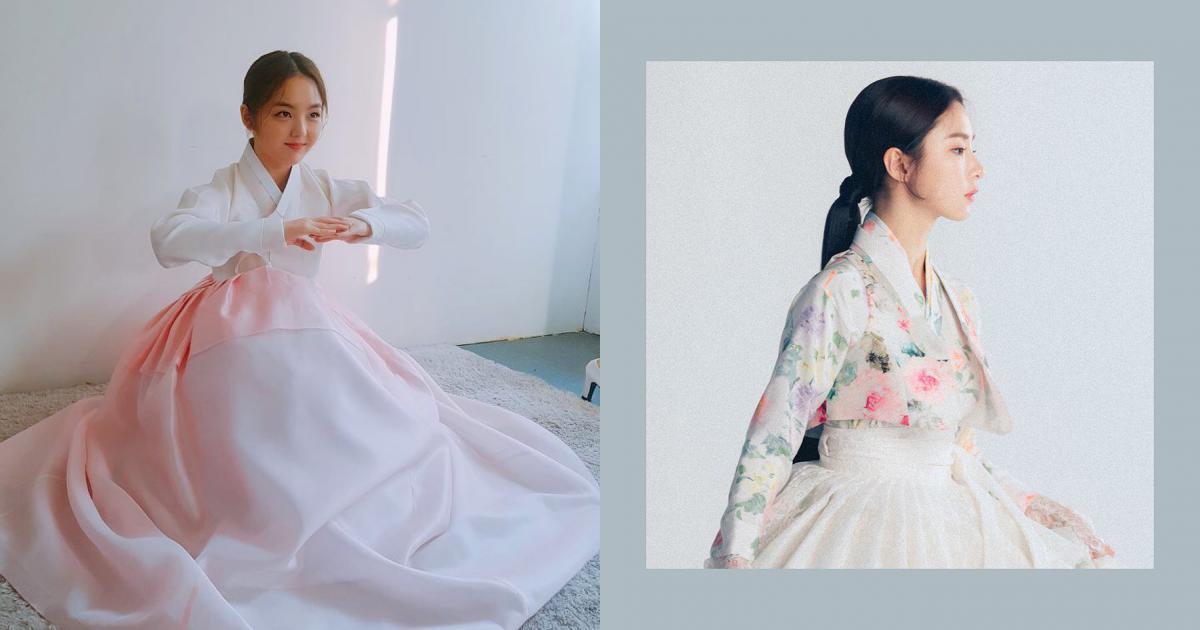 Sao thần tượng Hàn Quốc đồng loạt mặc hanbok đón Tết Mậu Tuất