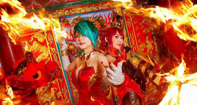 Liên Quân Mobile: Ngắm nhìn bộ ảnh cosplay Natalya và Violet cực rực rỡ trong ngày đầu năm mới - Hình 1