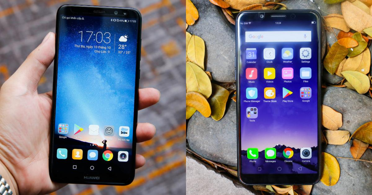 8 smartphone màn hình tràn viền giá dưới 7 triệu đồng