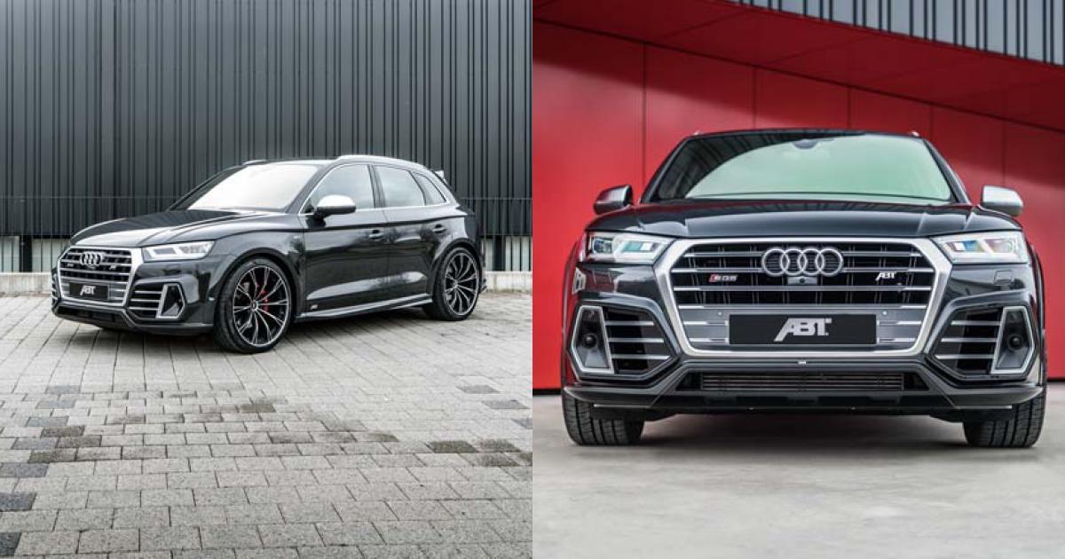 Audi SQ5 khác lạ với gói độ ABT Sportsline