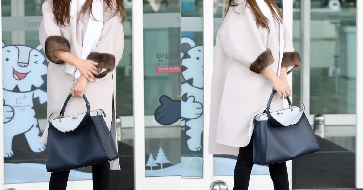 Kim Hee Sun trẻ trung khi sang Milan dự Tuần lễ thời trang