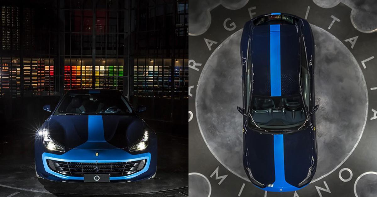 Thêm sắc xanh cho ngày xuân với Ferrari GTC4Azzurra