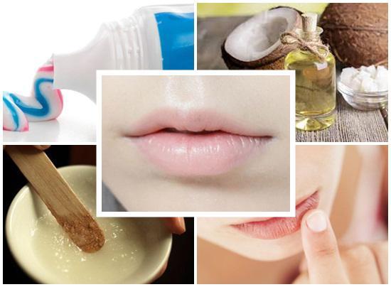Chỉ với tuýp kem đánh răng thông thường, môi bạn giảm thâm ngay lập tức