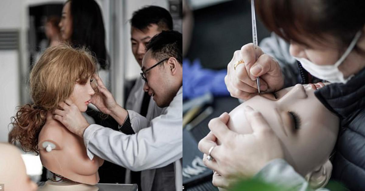 Bên trong nhà máy sản xuất búp bê tình dục ở Trung Quốc