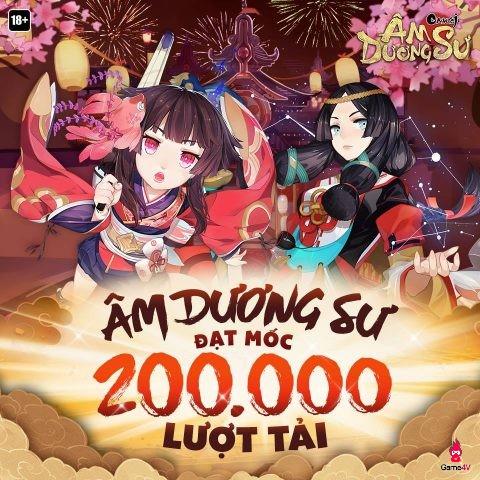 Tròn 1 tuần ra mắt, Âm Dương Sư phá vỡ cột mốc 200.000 lượt tải tại Việt Nam - Hình 1