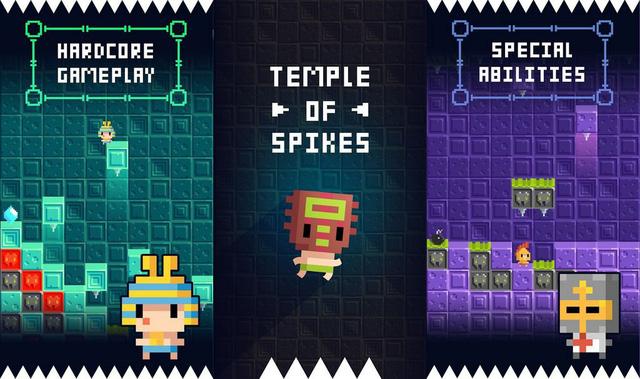 Temple of Spikes: The Legend - Nếu là game thủ hardcore thì không thể bỏ qua thử thách này - Hình 2
