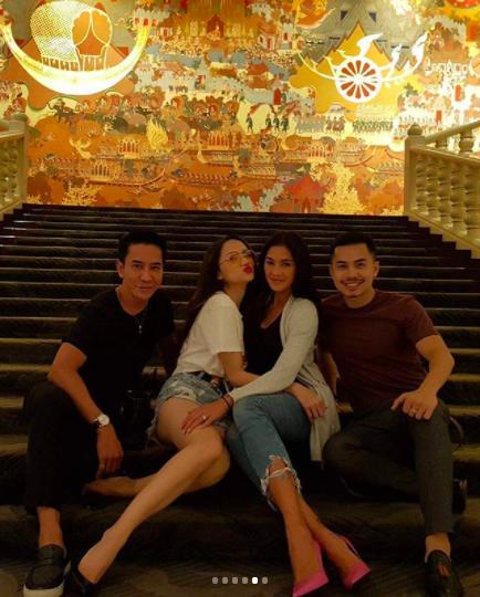 Cuối cùng, Hương Giang cũng gặp được người 'xúi giục' đi thi Hoa hậu Chuyển giới Quốc tế - Hình 4