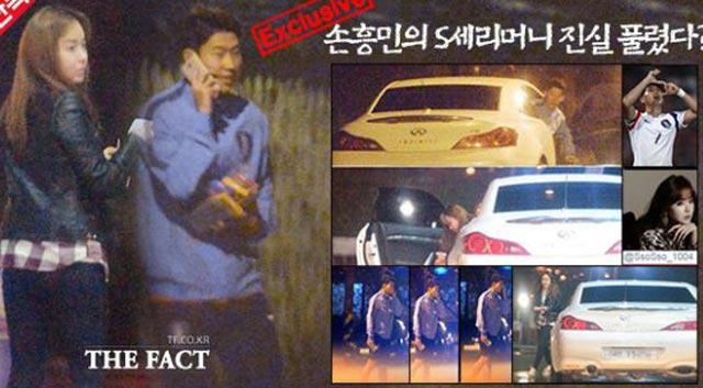 Khổ sở như làm bạn gái Son Heung-min - Hình 2