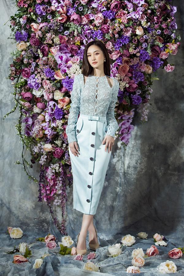 Jun Vũ đẹp mong manh với thiết kế của Đỗ Long - Hình 7