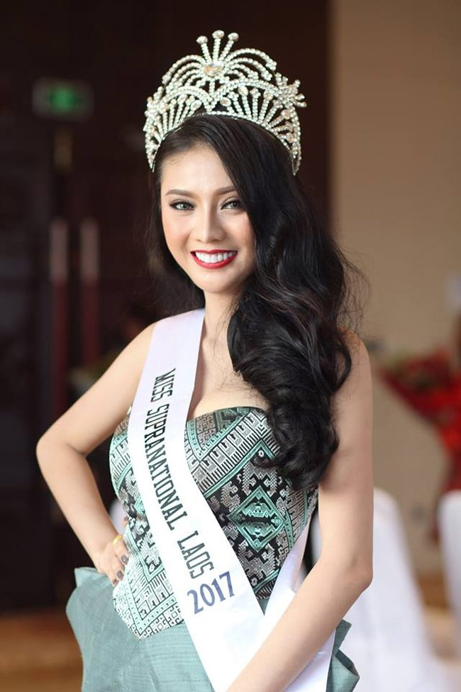 Ít thi hoa hậu nên mấy ai ngờ nước bạn Lào có lắm cô gái xinh đẹp như tiên - Hình 19