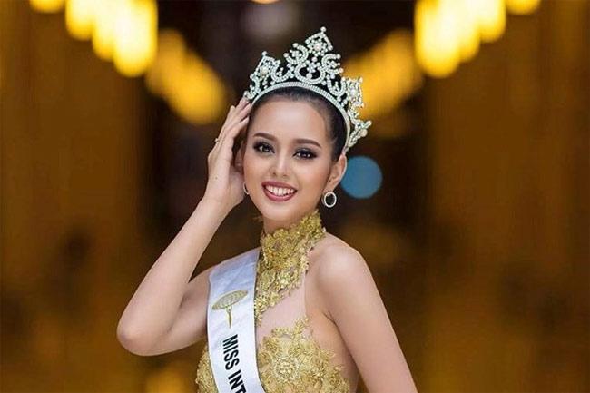 Ít thi hoa hậu nên mấy ai ngờ nước bạn Lào có lắm cô gái xinh đẹp như tiên - Hình 1