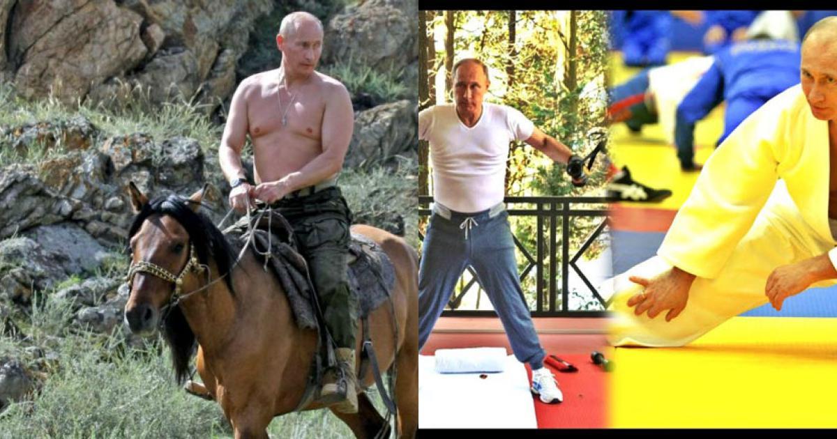 Ở tuổi 65, Tổng thống Nga Vladimir Putin vẫn tráng kiện nhờ đâu?