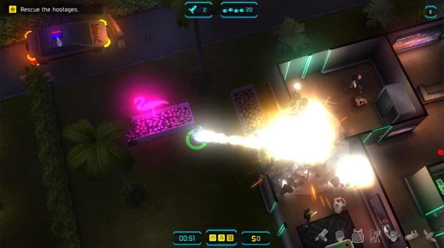 Tải ngay JYDGE - Một tựa game mang phong cách Alien Shooter khá mới - Hình