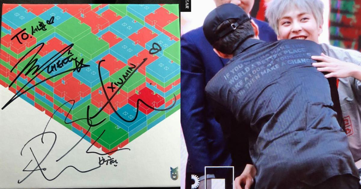 Sehun quá dễ thương: Cải trang thành fan xếp hàng xin chữ ký EXO-CBX 'như đúng rồi'!