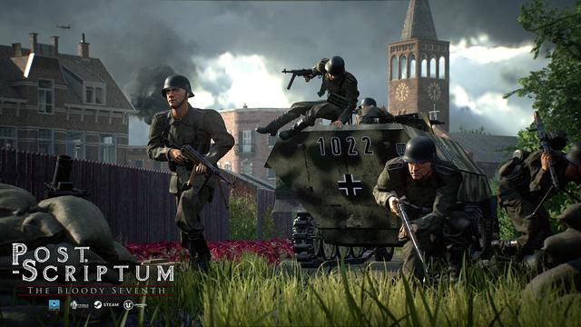 Xuất hiện game bắn súng đề tài thế chiến 2 đẹp ngất ngây: Post Scriptum - Hình 1