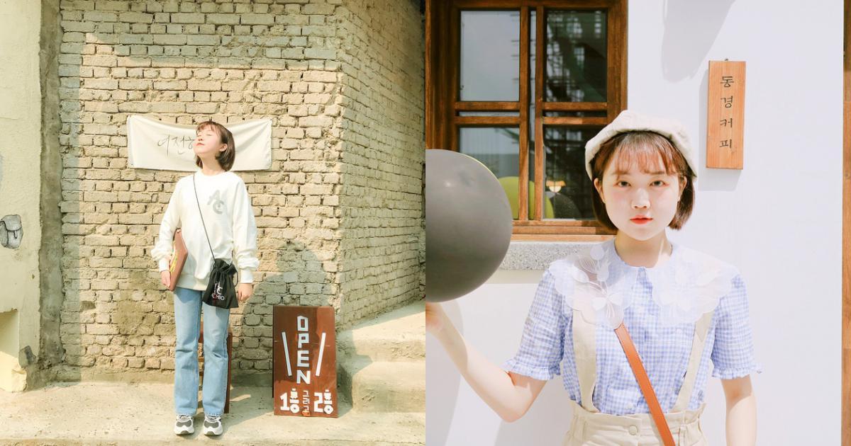 Thiếu nữ Hàn mang nhan sắc trẻ thơ nhờ sở hữu combo mặt tròn, tóc ngắn