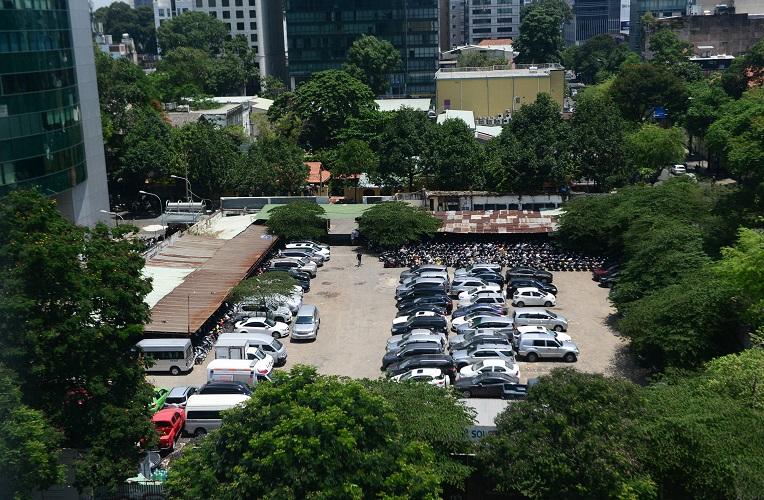 """Bãi giữ xe trong khu """"đất vàng"""" 2.000 tỷ đồng của ông chủ Kinh Đô - Hình 7"""