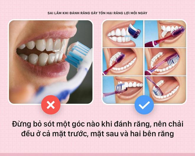 Đánh răng mà cứ mắc phải những sai lầm này thì bảo sao răng lợi ngày một yếu hơn - Hình 2