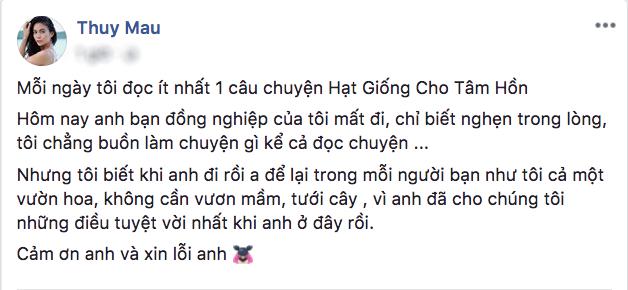 Nghệ sĩ Việt bàng hoàng, xót xa trước thông tin stylist Mì Gói qua đời - Hình 8