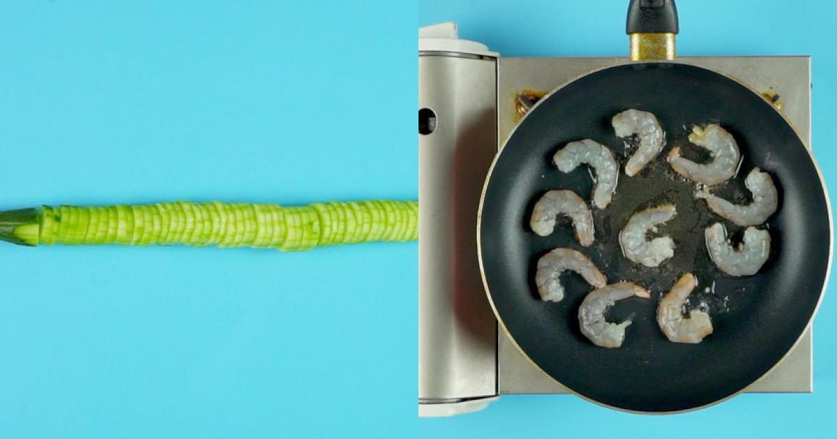 [Chế biến] - Miến trộn tôm cho bữa trưa thanh mát