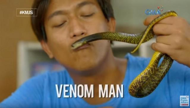 Cho rắn độc cắn hàng tuần để tăng cường miễn dịch - Hình 1