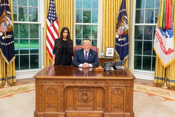 Kim Kardashian gặp Tổng thống Mỹ xin ân xá cho một nữ tù nhân - Hình 2