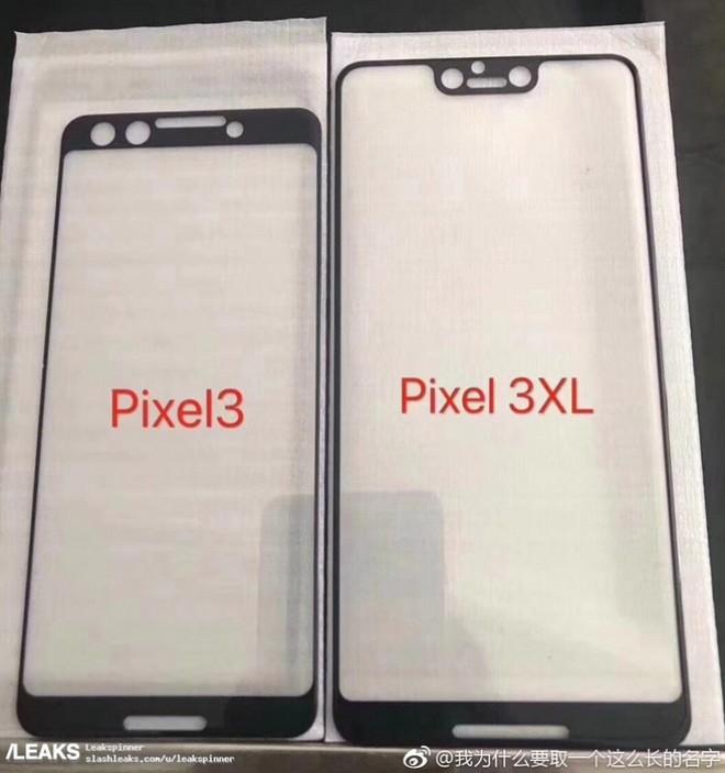 Miếng dán bảo vệ màn hình tiết lộ những điều thú vị về Pixel 3 và 3 XL - Hình 2