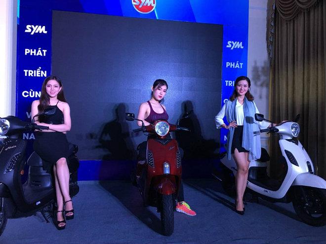 Ngắm bản gốc SYM Abela mới ra mắt, đấu Honda Vision - Hình 1