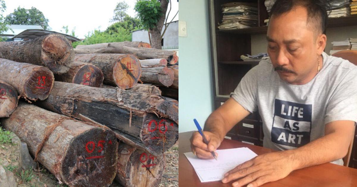 """Vụ trùm gỗ Phượng """"râu"""": Khởi tố vụ án và 5 đối tượng vận chuyển gỗ lậu"""