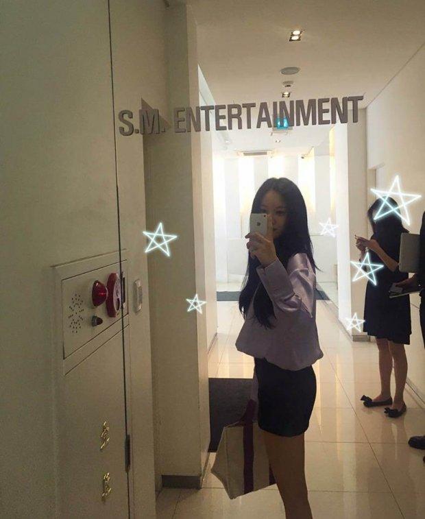 Hết follow trên instagram rồi đến tận công ty, Hyomin tiếp tục hợp tác cùng SM? - Hình 1