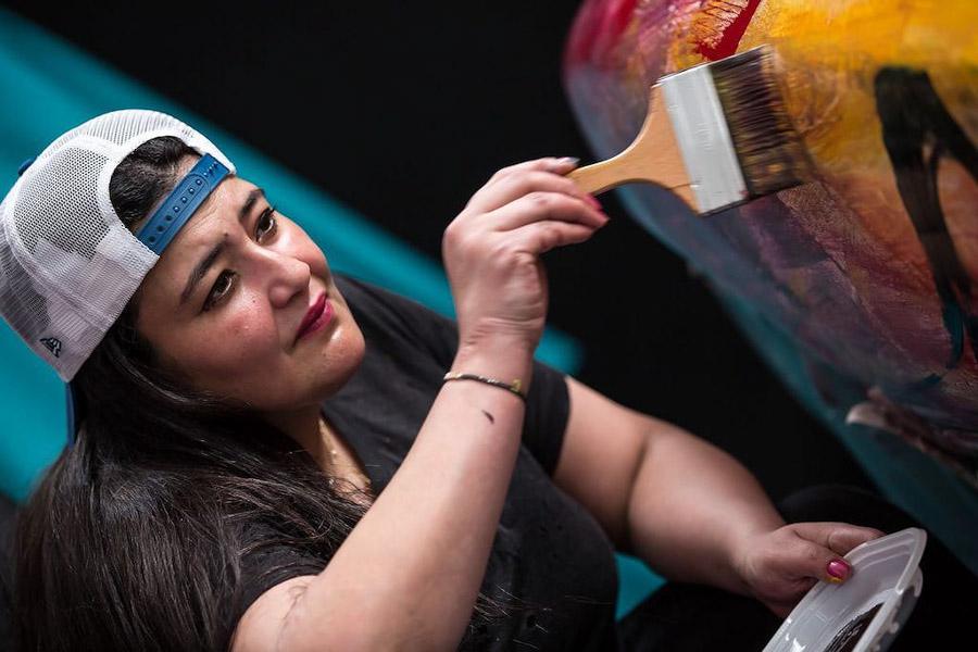 Siêu xe Pagani Zonda trở thành tác phẩm nghệ thuật di động - Hình 2