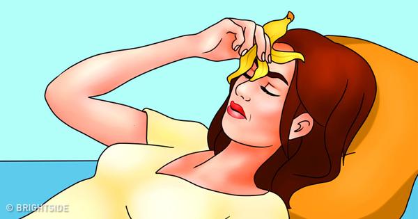 8 mẹo làm đẹp hữu ích với vỏ chuối không nhiều người biết - Hình 7