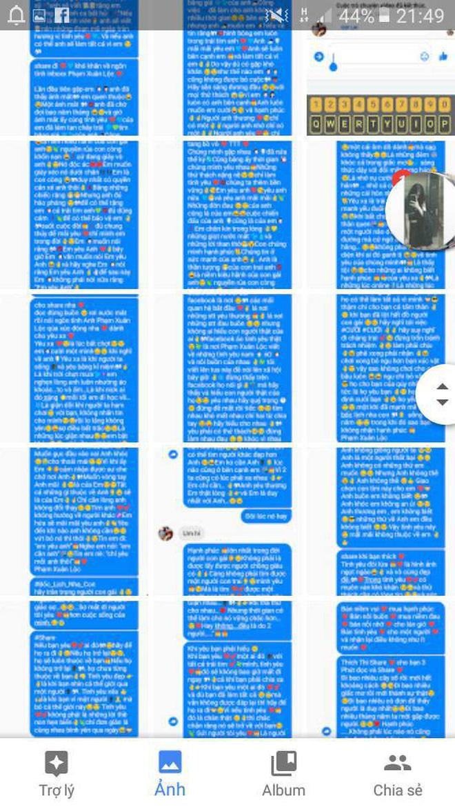 Được người yêu quan tâm nhắn tin thì vui thật nhưng không phải là những tin nhắn dài cả mét thế này! - Hình 3