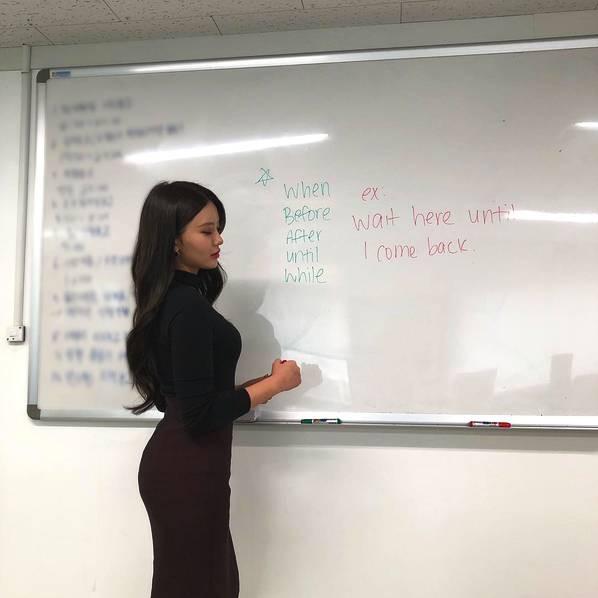 Sarah Kim - Cô giáo dạy tiếng Anh nóng bỏng nhất Hàn Quốc - Hình 8