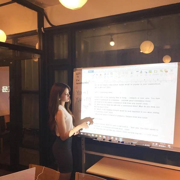 Sarah Kim - Cô giáo dạy tiếng Anh nóng bỏng nhất Hàn Quốc - Hình 7