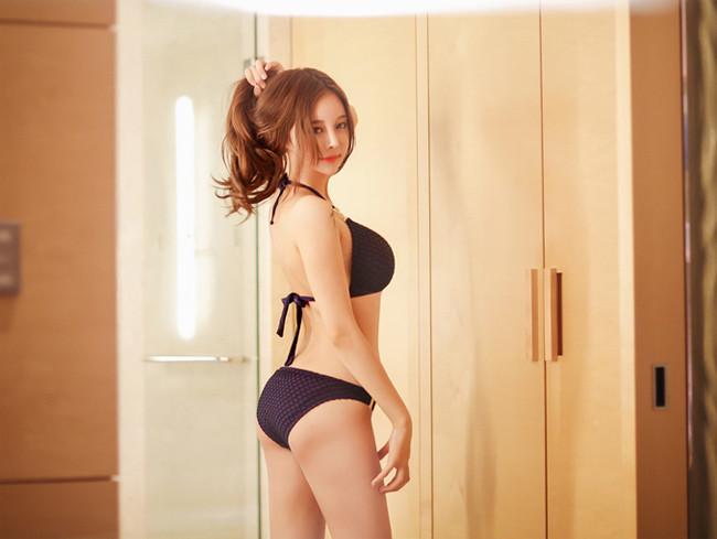 Hot girl diện bikini siêu nóng bỏng khoe vòng 1 căng đầy khiến cánh đàn ông rung động - Hình 14