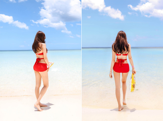 Hot girl diện bikini siêu nóng bỏng khoe vòng 1 căng đầy khiến cánh đàn ông rung động - Hình 28