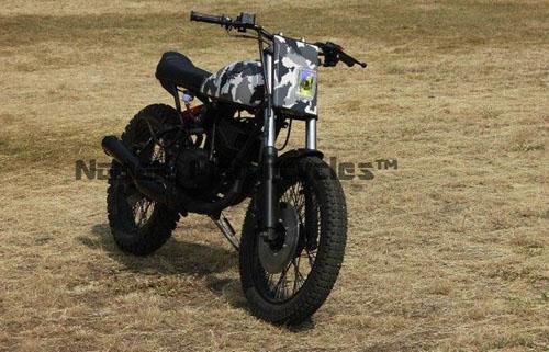 Yamaha RX 100 Scrambler: Sự tái sinh của một huyền thoại - Hình 3