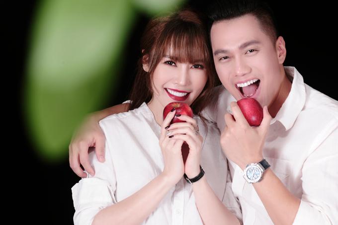 Việt Anh chụp ảnh tình tứ với Quế Vân thế này, vợ không ghen mới lạ - Hình 5