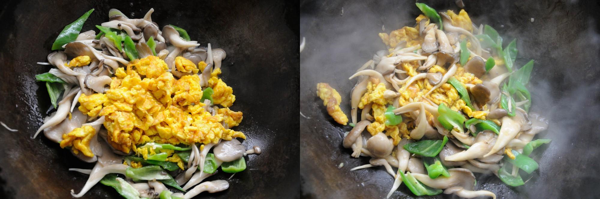 [Chế biến] – 5 phút làm nấm sò xào trứng ngon lành bổ dưỡng - Hình 4