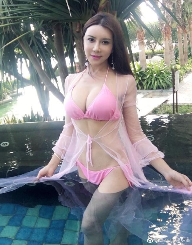 Thêm một bộ ảnh nóng bỏng với bikini của Cung Nguyệt Phi - Hình 13