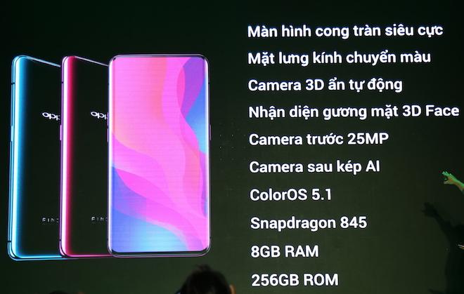 Siêu phẩm Oppo Find X với camera ẩn tự động chính thức về Việt Nam - Hình 1