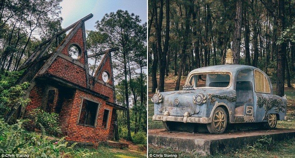 5 công trình bị bỏ hoang tại Việt Nam, muốn có những bức ảnh kì bí hết cả hồn thì nhất định phải đến! - Hình 20
