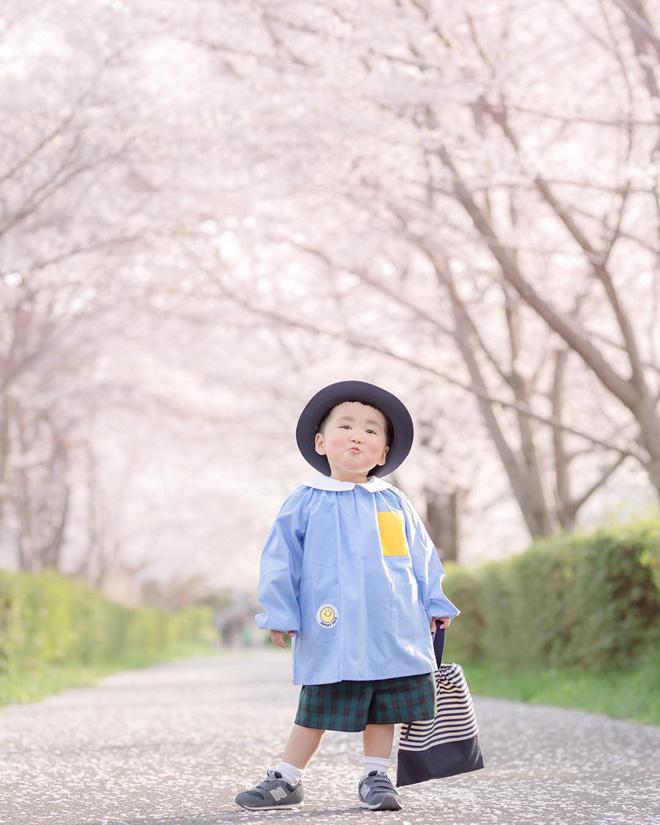 Cậu nhóc Nhật Bản đầu nấm má phính với 1001 biểu cảm không yêu không được - Hình 17