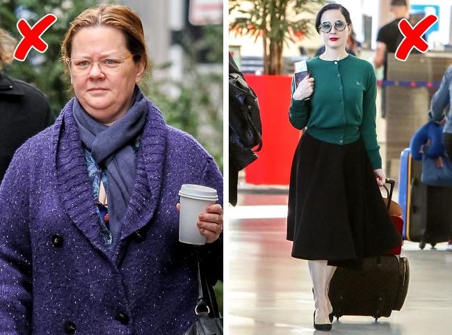 7 cách mặc đồ dễ khiến nàng trông già hơn - Hình 5