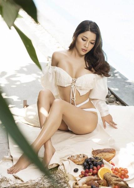 Á hậu Yan My khoe 3 vòng nóng bỏng với bikini - Hình 10
